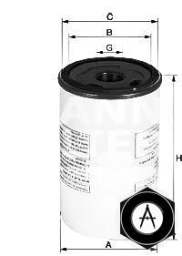 масляный фильтр корпусного типа