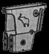 1001233 Кронштейн левый крепления подвески