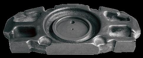 M0152 Плита подвода колодок суппорта MERITOR D3