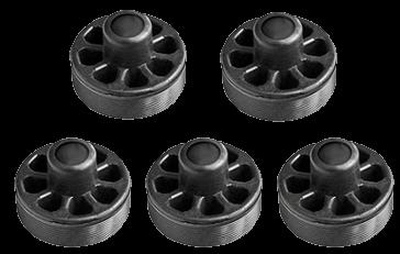 18058 Кмт защитных пластиковых вставок суппорта Haldex Modul T