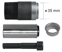 15050 Рмк направляющей с втулкой 35mm суппорта KNORR