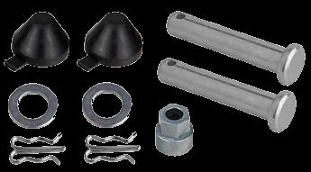 14676 Копачки , ключик подвода и штифты колодок суппорта Knorr