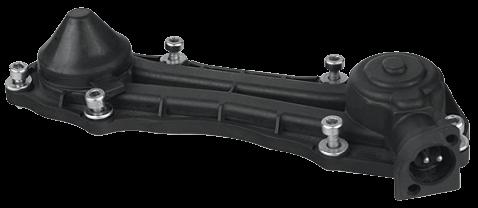 16015 Крышка пластиковая с 2 pin датчиком суппорта KNORR