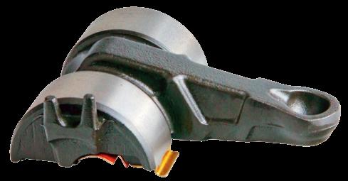 13510 Лапка 0° L=113mm суппорта Knorr SN6