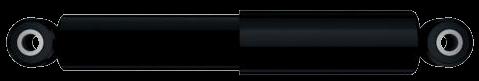 130001 Амортизатор подвески BPW,SAF 331mm 495mm 24x55 24x55 O/O
