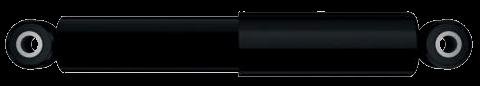 130010 Амортизатор подвески SAF BPW ROLFO 296mm 432mm 24x55 24x55 O/O