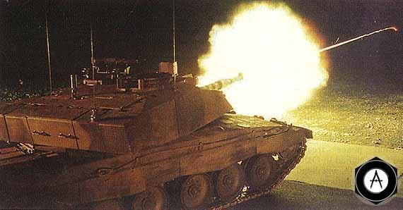 выстрел 2 MBT Challenger