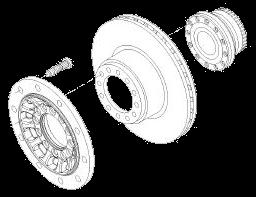 Диск тормозной 377мм SKRB9019 W SAF 2