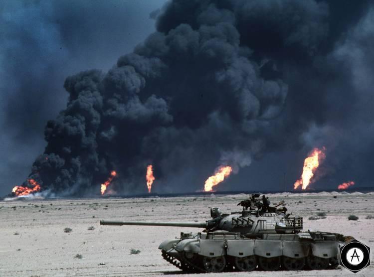 горящая пустыня