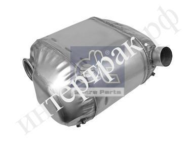 722019 Глушитель выхлопных газов конечный  DIN 28477