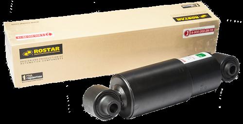 Амортизатор подвески прицепа SCHMITZ (H) (272-386) 16х82/16х58 с длин. втулкой для рефриж. б/болтов