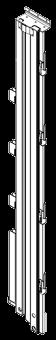 594666 Стойка дверного портала левая шторный полуприцеп