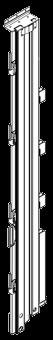 594667 Стойка дверного портала правая шторный полуприцеп