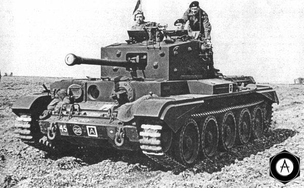 Английский танк Cromwell 1944