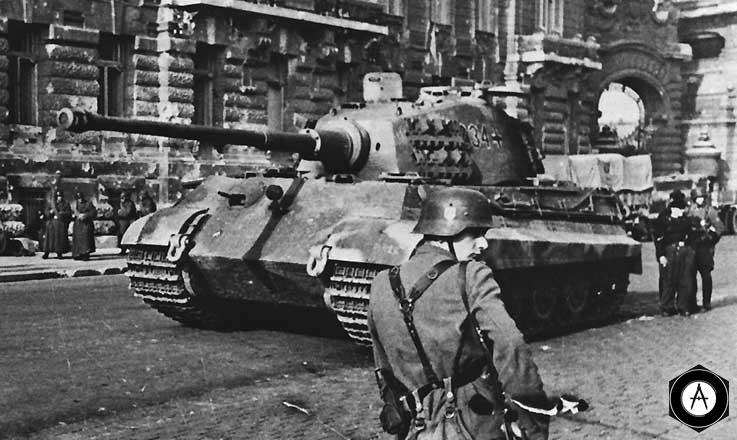 PzVIB Будапешт январь 1945