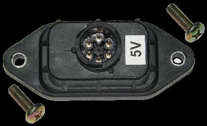 3275002 Электроразьём 4х контурного крана 5V
