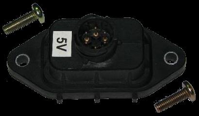 3275022 Электроразьём 4х контурного крана 5V