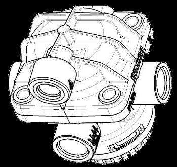 AC577A Ускорительный клапан