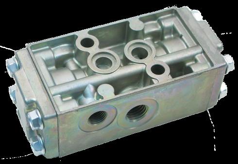 5233000 Клапан КПП пятиходовой двухпозиционный