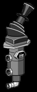 HB1143 Кран ручного тормоза