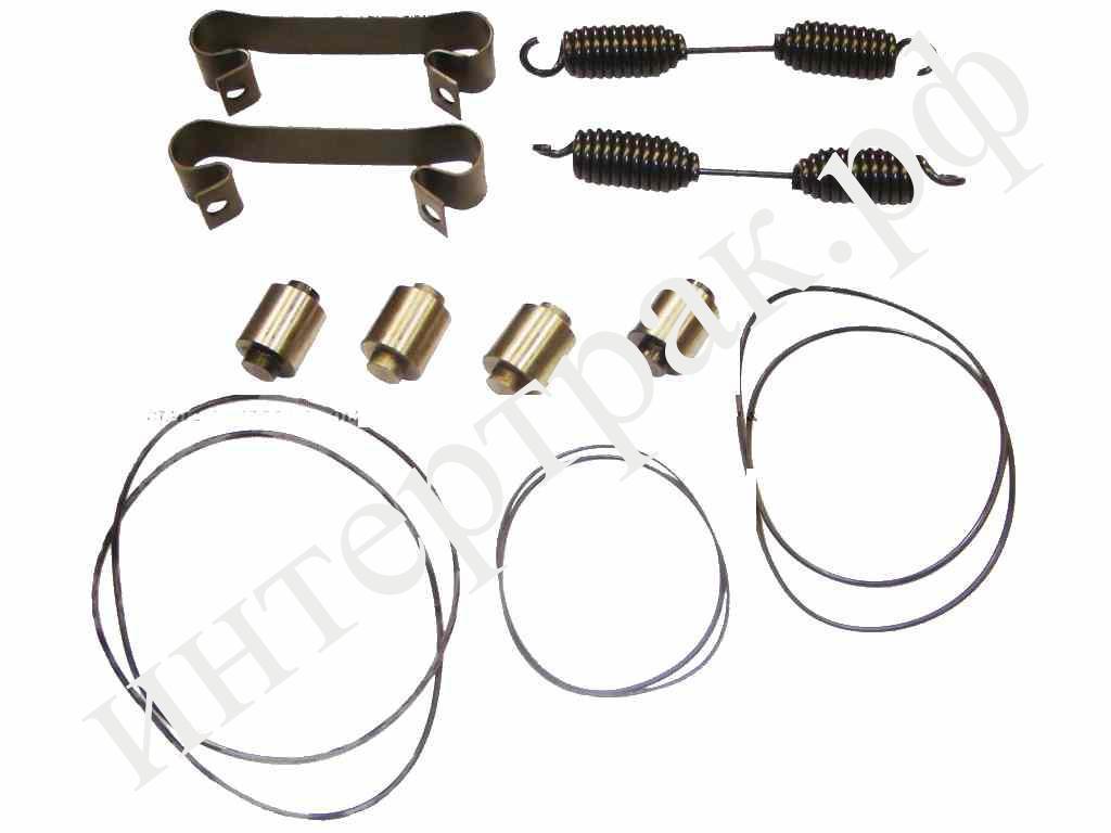 075563 Ремкомплект торм. колодки на ось SAF S/Z-Series (пружины+фиксаторы+ролики)