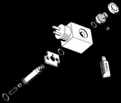 4729009212 Рмк электромагнитного клапана