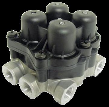 AE4604 Кран 4х контурный защитный