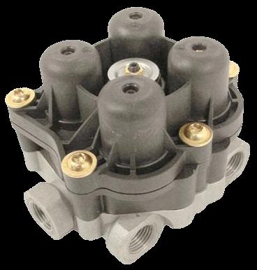 AE4603 Клапан 4х контурный защитный