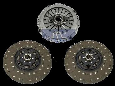 AKBL2109N Кмт 2х дискового сцепления 400мм VOLVO выжимной на корзине