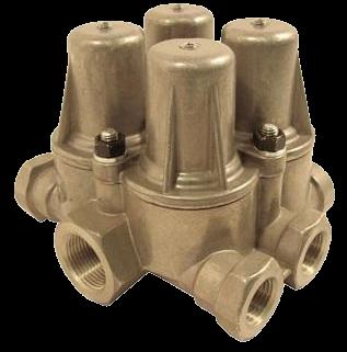 AE4183 Клапан 4х контурный защитный