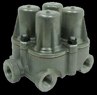 AE4190 Клапан 4х контурный защитный