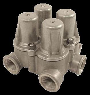 AE4404 Клапан 4х контурный защитный
