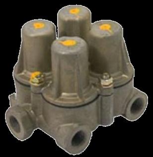 AE4427 Клапан 4х контурный защитный