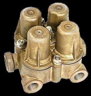 AE4428 Клапан 4х контурный защитный