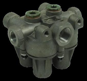 AE4434 Клапан 4х контурный защитный