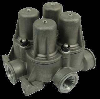 AE4437 Клапан 4х контурный защитный