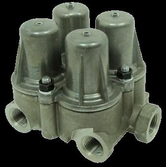 AE4158 Клапан 4х контурный защитный