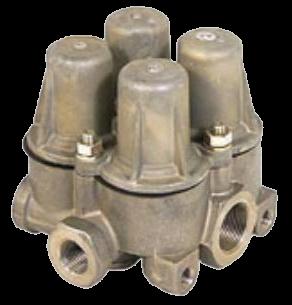 AE4168 Клапан 4х контурный защитный