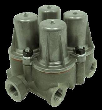 AE4178 Клапан 4х контурный защитный