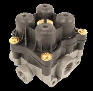 AE4613 Клапан 4х контурный защитный
