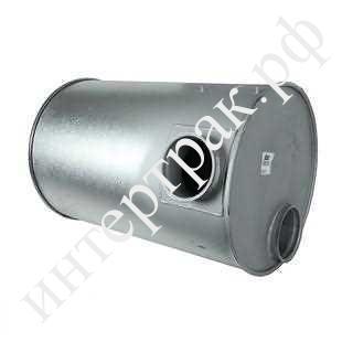 80451 Резонатор(бочка) глушителя ЕВРО 1 DIN80401 круглая Omn Volvo FH12/16 FL12 FM7/10/12