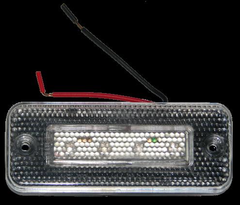 YP77R Габарит LED красный прямоугольный