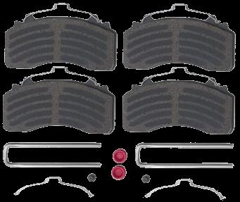 6403229332 Колодки с установочным комплектом суппорта WABCO MAXX 22