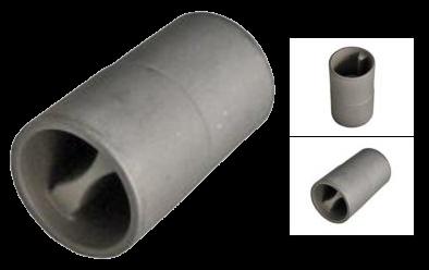 Переходник для алюминевого профиля натяжения тента, внешний диам. 27мм_