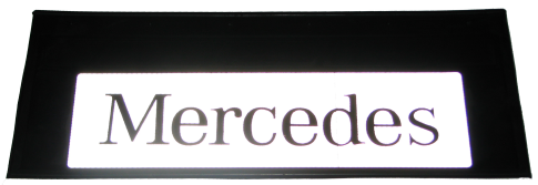 90120 Кмт передних брызговиков MERCEDES 520-250mm СВЕТООТРАЖАЮЩИЙ