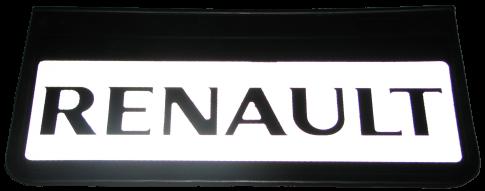90116 Кмт передних брызговиков RENAULT 520-250mm СВЕТООТРАЖАЮЩИЙ