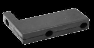 198300 Отбойник резиновый УГОЛ 180x130x40x70mm