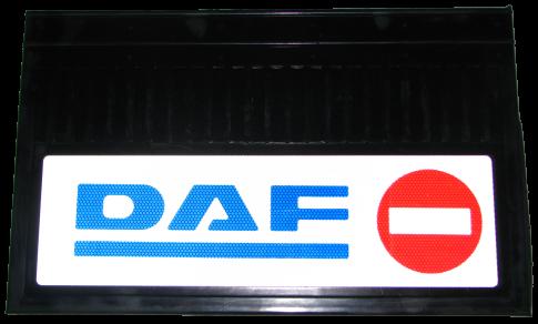 82601 Кмт 2шт DAF светоотражающих брызговиков Кирпич-Стрелка 580x360mm