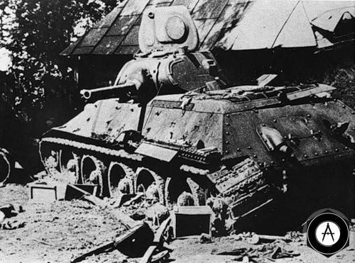 покинутый Т-34-76(1940 года) 1941