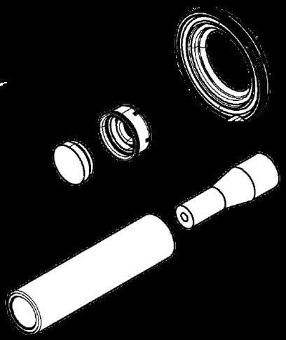 6401759202 Рмк пыльника и подводной ключ суппорта WABCO